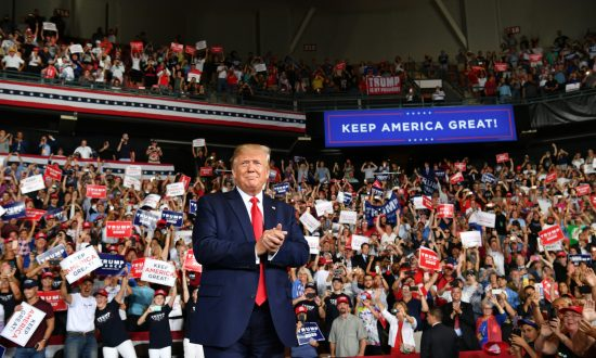 Trump Addresses 2020 Democrat Contenders at Re-Election Rally