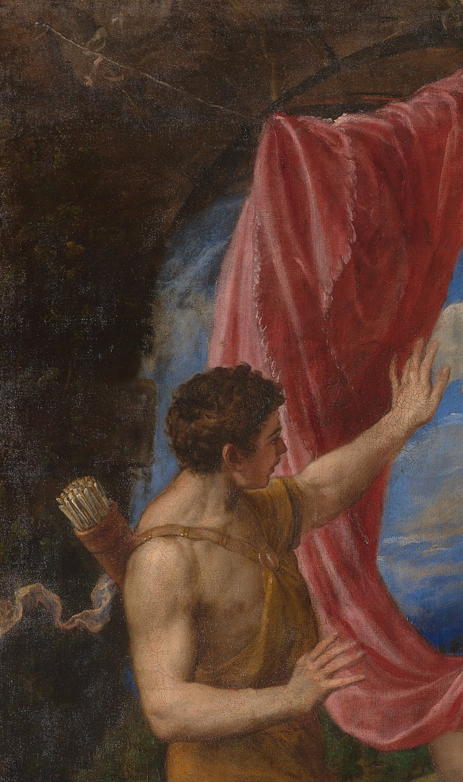 Paintings in depth: Diana and Actaeon | Paintings | The ...  |Diana And Actaeon Titian