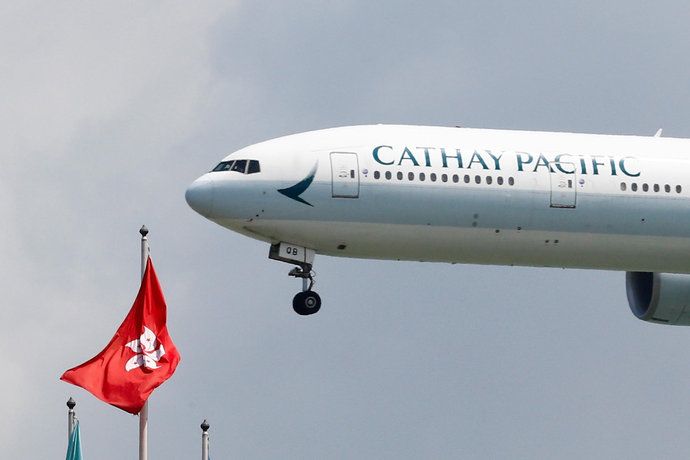 China Watchdog has Cathay Staff 'Walking on Eggshells' Amid Hong Kong Protests