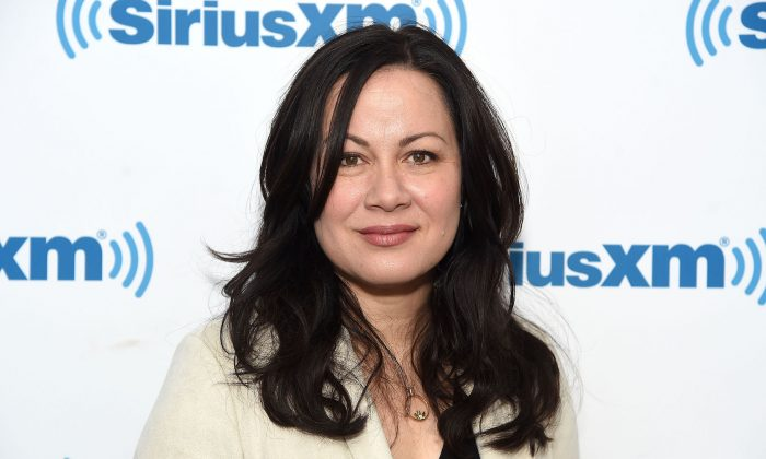 Shannon Lee visits SiriusXM Studios in New York City on March 28, 2019. (Jamie McCarthy/Getty Images)