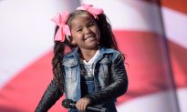5-Year-Old's Wit Charms Everyone at AGT, but When She Taps and Sings It's 'Heavenly'