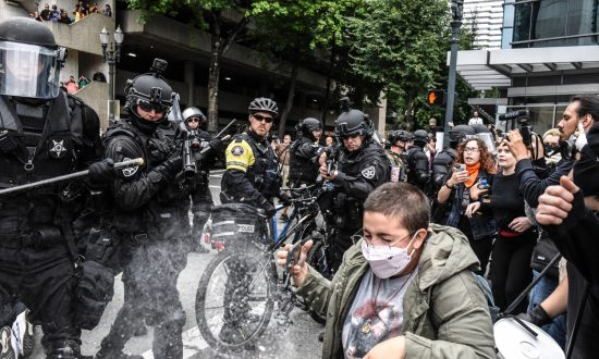 Right-Wing Groups and Antifa Clash in Portland, at Least 13 Arrested