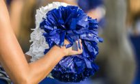Cheerleader in Tears When Military Dad Is Absent, Then Teen Jumps Fence and Saves the Day