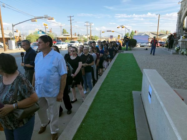 memorial services for Margie Reckard El paso victim