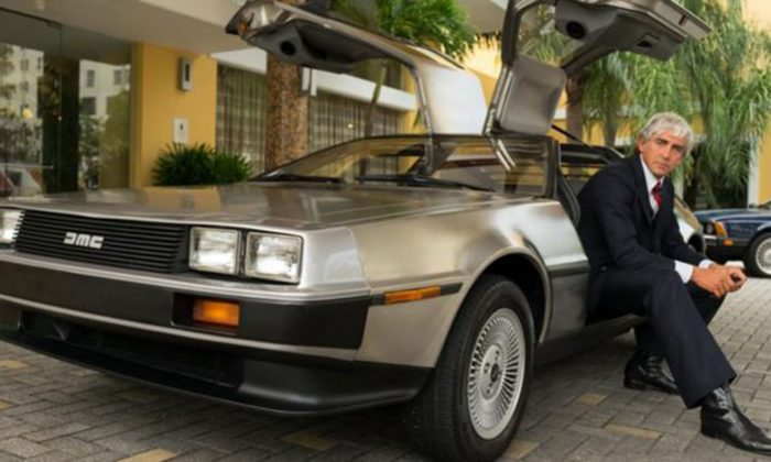 """Lee Pace as John DeLorean in """"Driven."""" (Universal Pictures)"""