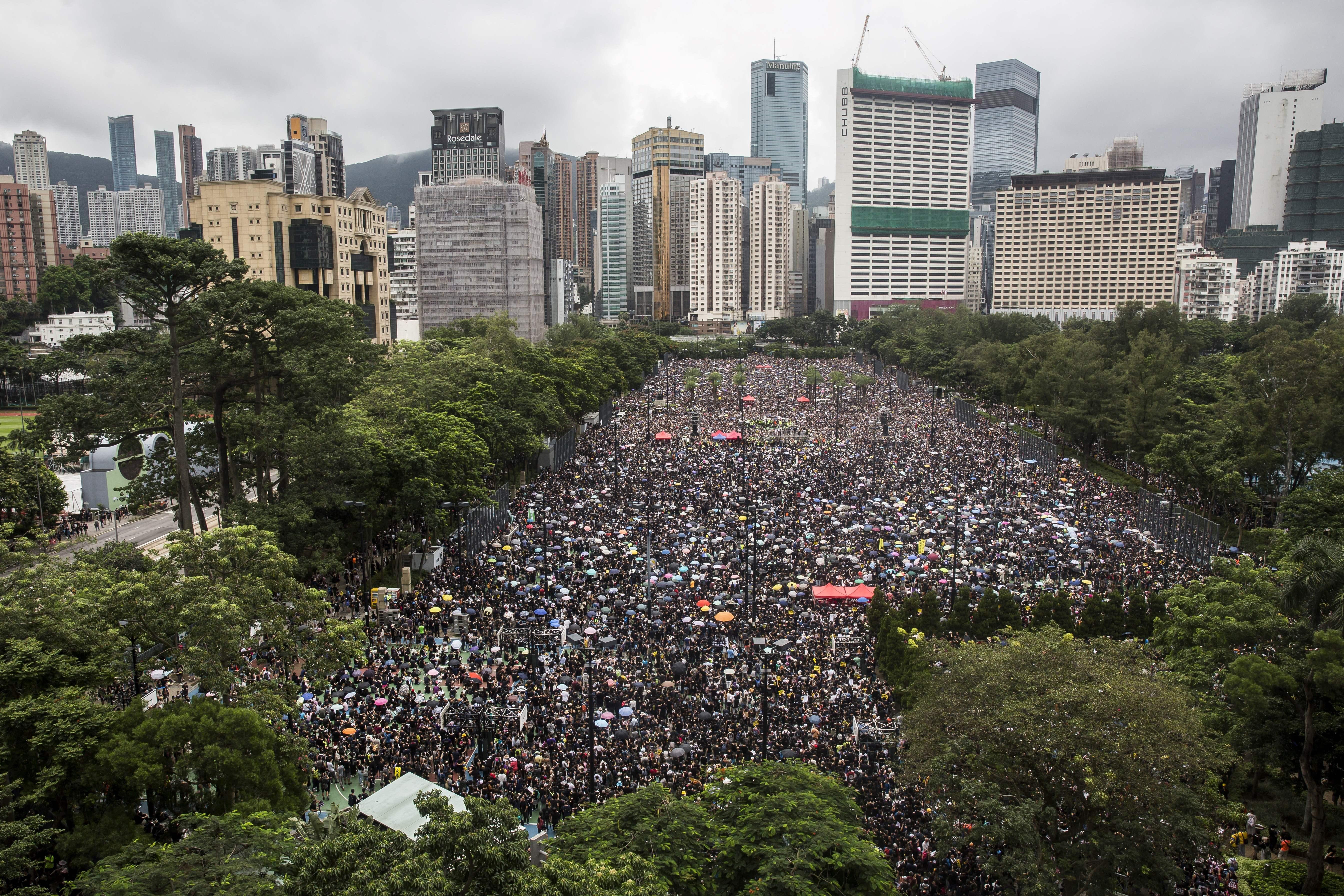 China's Nationalist Propaganda Stokes Anti-Hong Kong Passions