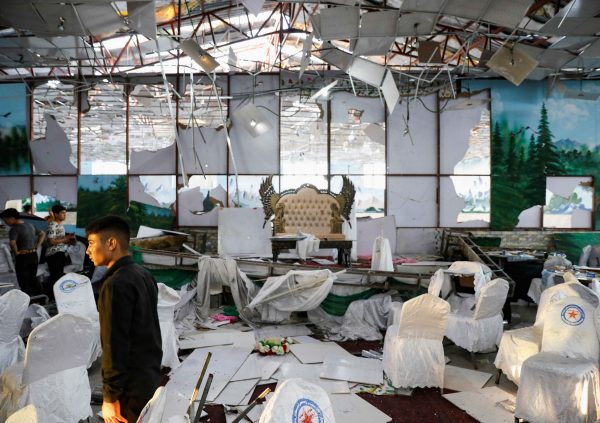 Afghanistan wedding suicide attack