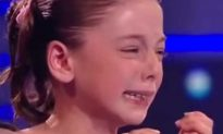 10-Year-Old Bounces Back in Tremendous Fashion After Breaking Down on Talent Show