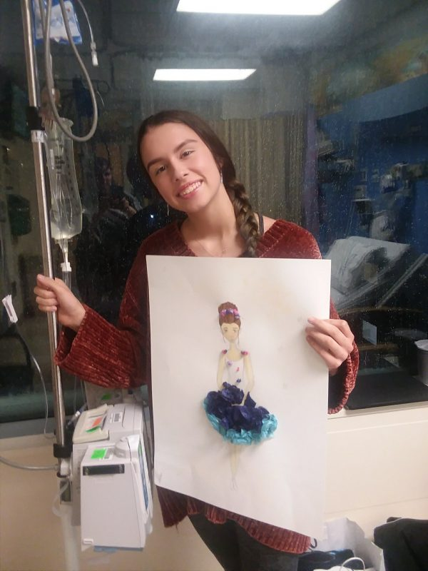 Chiara at the Children's Hospital at Montefiore