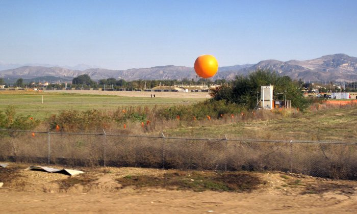 An undated photo of the Orange County Great Park in Irvine, Calif. (Wikimedia/Downtowngal [CC BY-SA 3.0 (ept.ms/2Bw5evC)])
