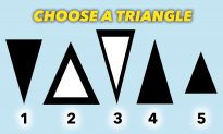 The Triangle You Choose Will Reveal a Fascinating Fact About Your Personality