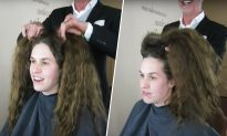 'Makeover Guy' Chops Half of Lady's Hair Off, See How Gorgeous She Looks After Revamp