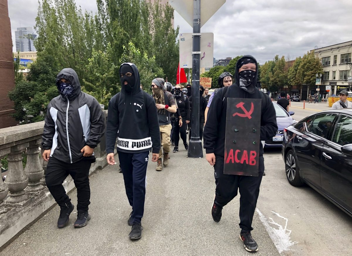 Portland Mayor Says Protests Were 'Largely Peaceful' as Videos Show Antifa Assaulting People