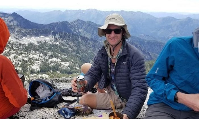Daniel Komins in a picture taken shortly before his death. (Search efforts for missing hiker Daniel Komins/GoFundMe)
