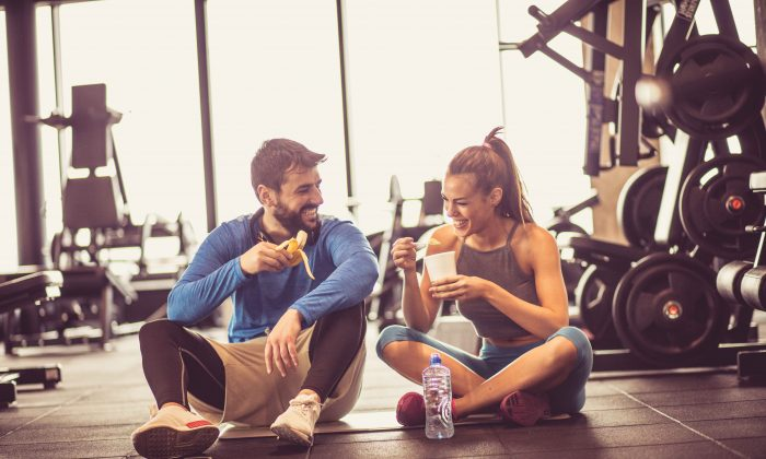 The human body is so efficient that even a good workout isn't enough to burn off calorie-rich foods. Combine good food with exercise for the best effect. (Mladen Zivkovic/Shutterstock)