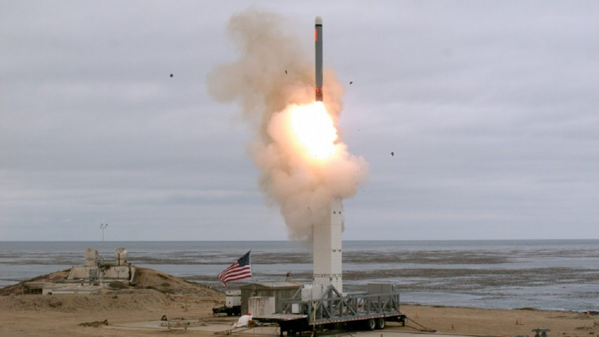 missile launch in california