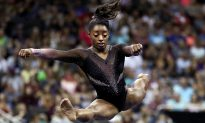 VIDEO: Female Gymnast Pulls Off Never-Before-Seen Moves During National Competition