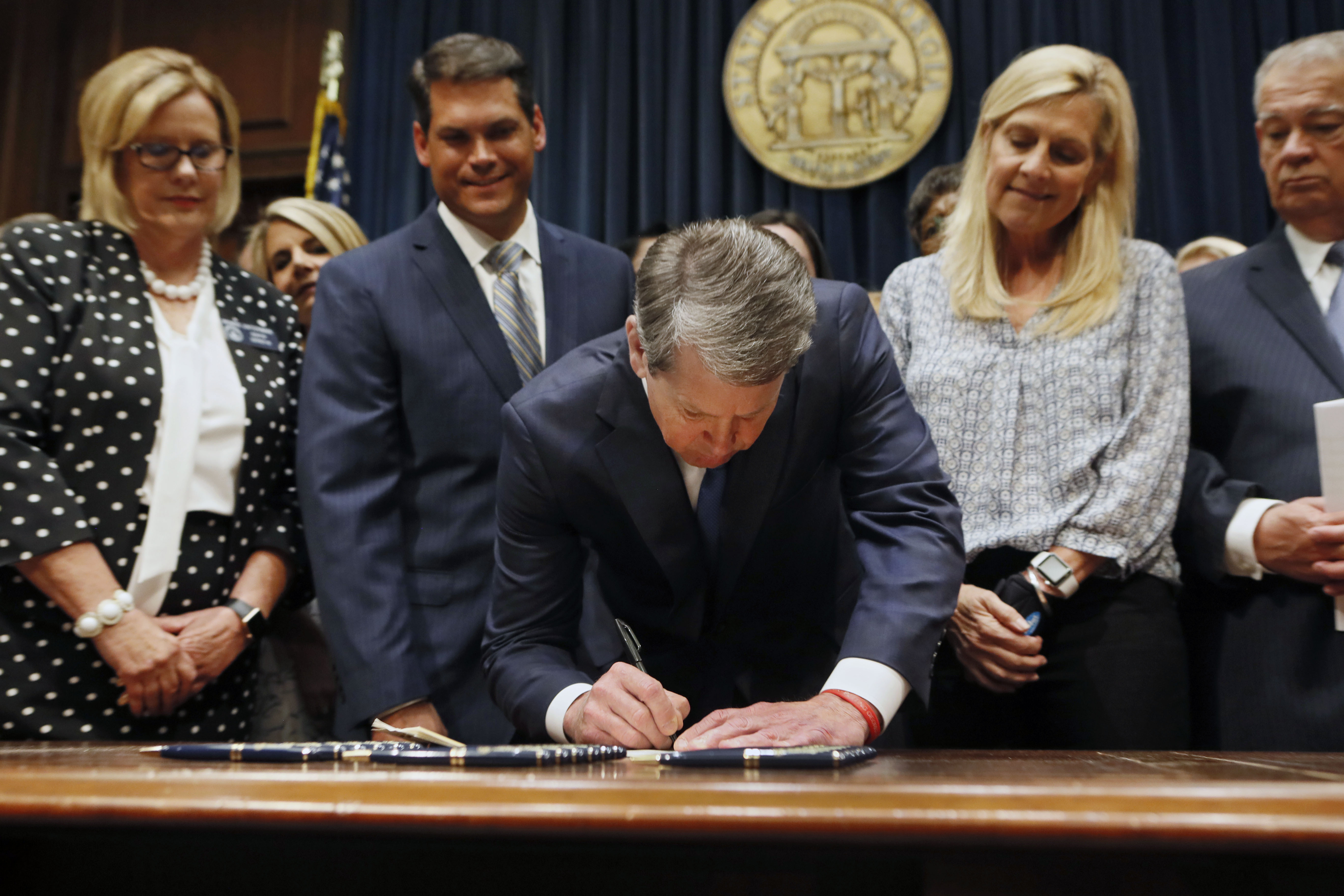 Georgia Asks Judge Not to Block Fetal Heartbeat Abortion Law