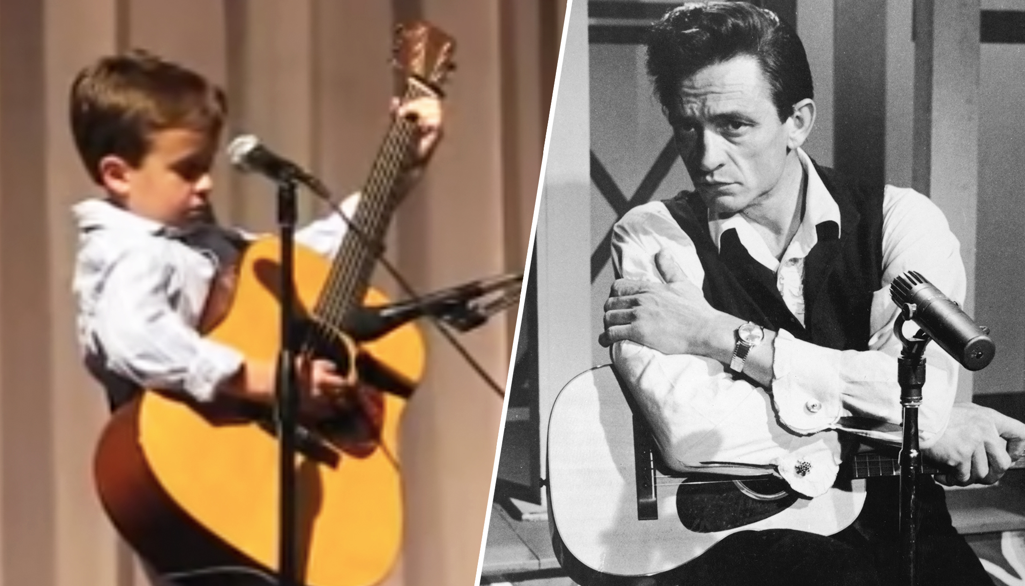 Think Johnny Cash Is Gone? Watch This 2nd-Grader Bring the House Down With His Classic