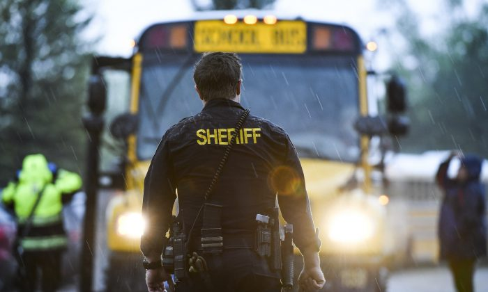 A federal district court judge dismissed a class-action lawsuit against Culpeper County, Va., Sheriff Scott Jenkins for detaining an illegal alien at the request of Immigration and Customs Enforcement. (Michael Ciaglo/Getty Images)