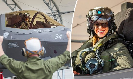 29-year-old Pilot Becomes the First Female Marine to Fly the Stealth F-35B and Is Ready for Combat