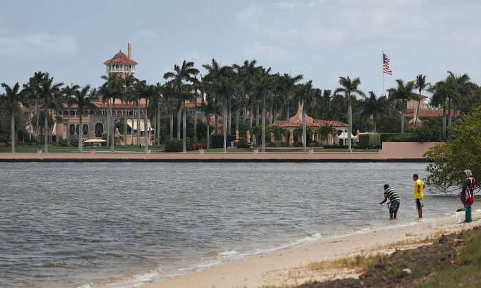 President Donald Trump's Mar-a-Lago resort in West Palm Beach, Fla., on April 3, 2019. (Joe Raedle/Getty Images)