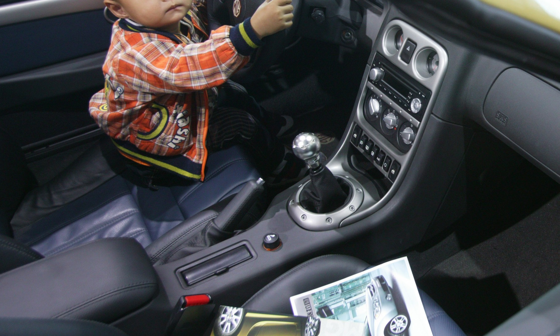 Five-Year-Old Boy Drives Car Looking for Father, Stops After Traffic Accident