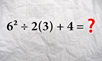 This Math Problem Has the Internet Scratching Its Head–for an Unexpected Reason