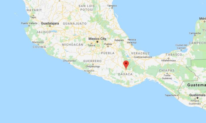 A pastor in southwestern Mexico was shot dead during Sunday service in Oaxaca state on Aug. 19. (Google Maps)