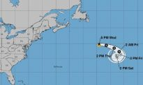 Tropical Storm Chantal Forms in North Atlantic, Hurricane Forecasters Say