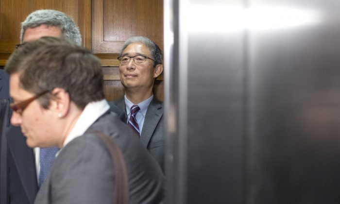 Bruce Ohr, former U.S. associate deputy attorney general, departs following a closed hearing with the House Judiciary and House Oversight and Government Reform Committees on Capitol Hill on Aug. 28, 2018. (Zach Gibson/Getty Images)