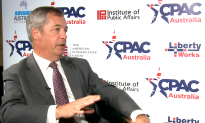 [CPAC Australia Special] Nigel Farage on Hong Kong: Trump is the First Global Leader To Call Out China