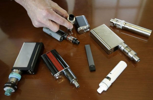 Vaping E-cigarette devices