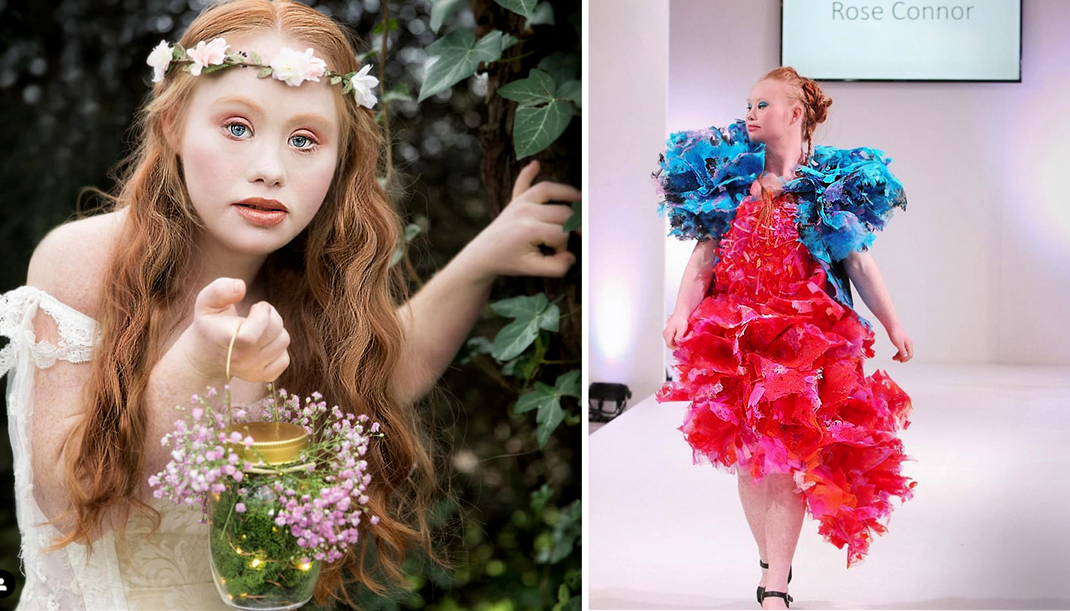 First Model With Down Syndrome to Walk Runway in New York Fashion Week Is Changing Perceptions
