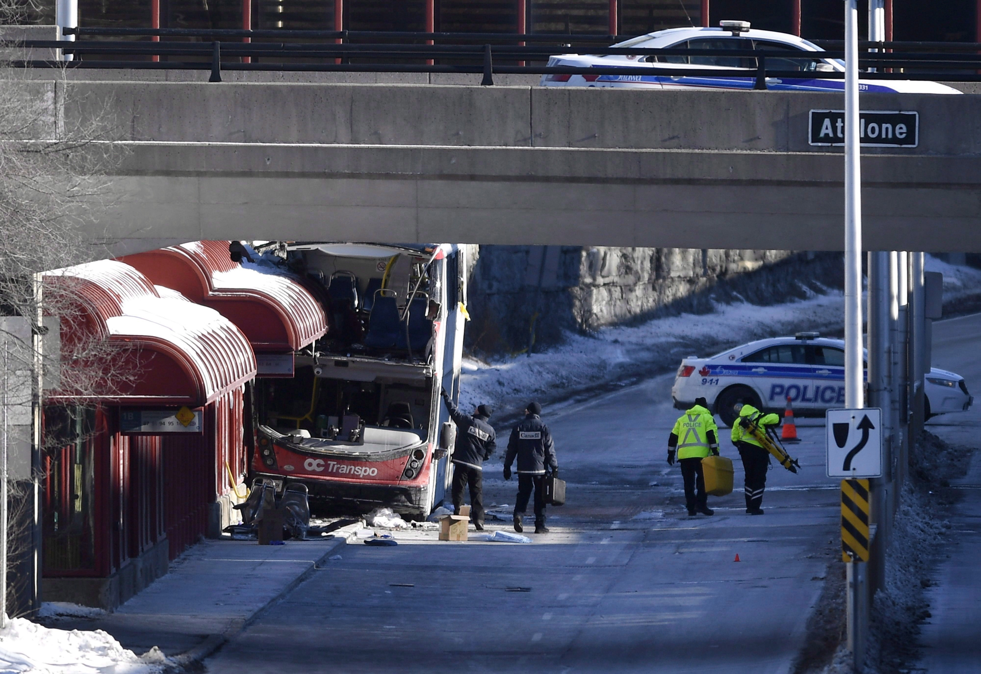 Ottawa Police Charge Transit Driver With 38 Offences in Deadly Bus Crash