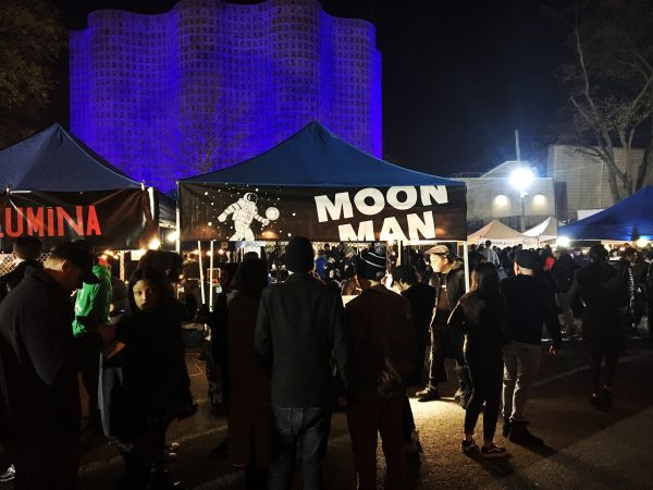 The Moon Man booth