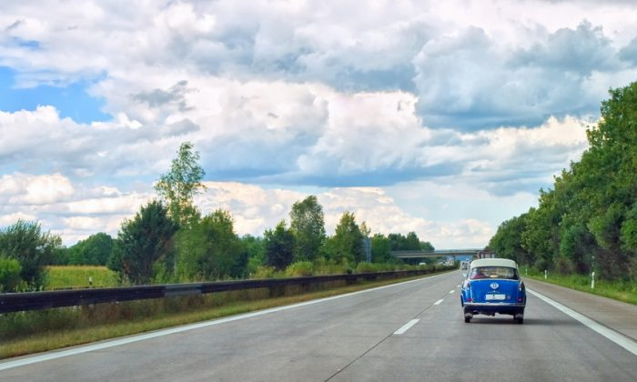 Cruising on the autobahn. (Shutterstock)