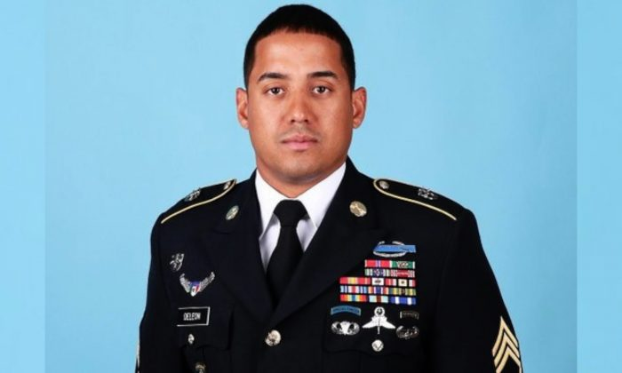 This undated photo provided by the U.S. Department of Defense shows Master Sgt. Luis F. Deleon-Figueroa. (U.S. Department of Defense via AP)