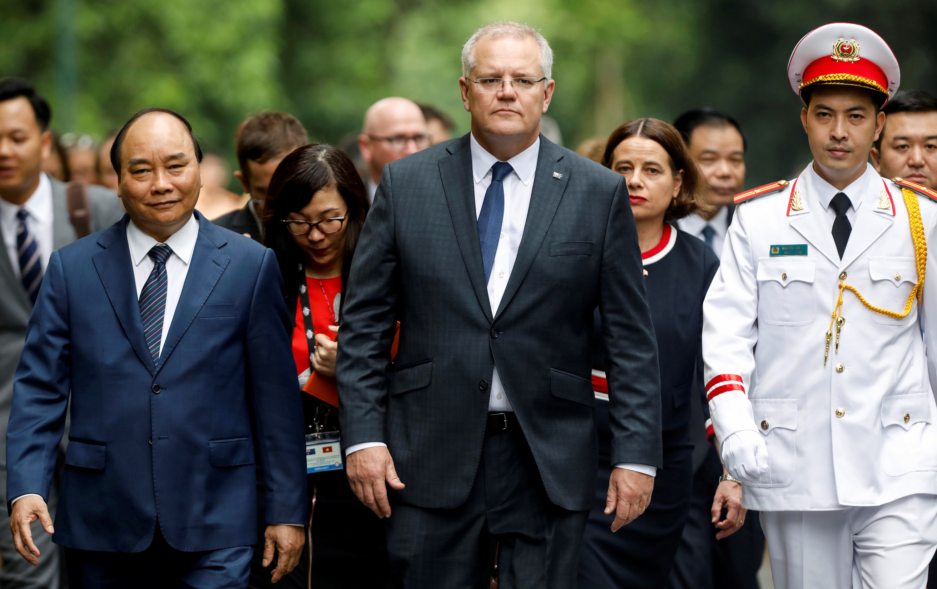 New Allies Vietnam, Australia Express Concern Over China's Activities in South China Sea