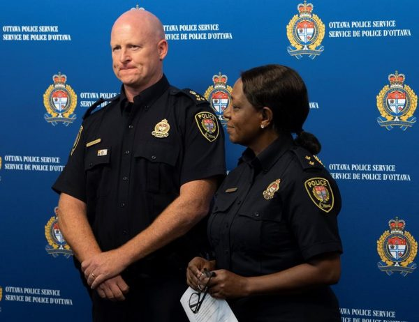 Ottawa police are charging the driver of a city bus with more than three dozen offences after a deadly crash in January that killed three people and injured 23 others. (Adrian Wyld/The Canadian Press)