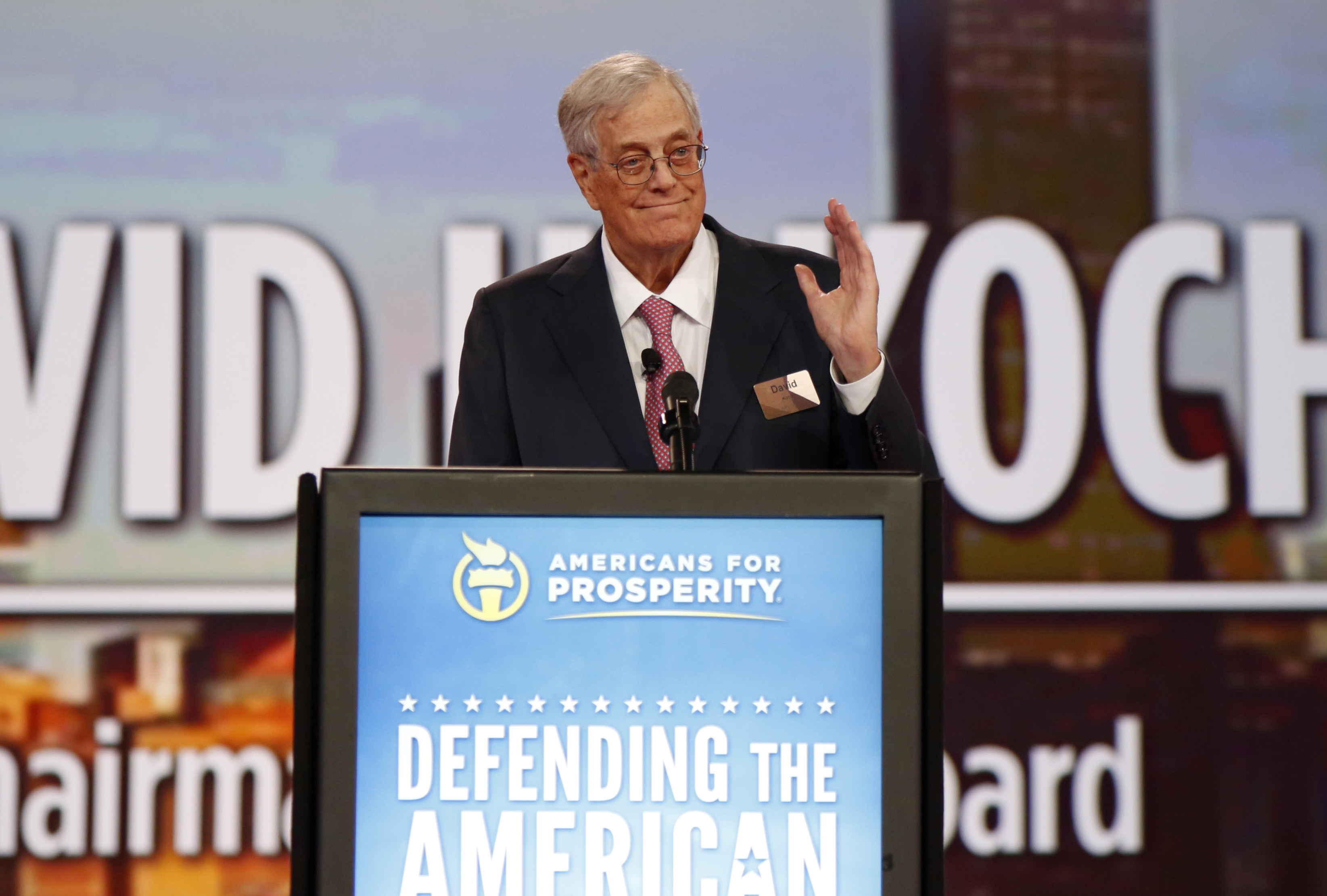 Writers, Activists Celebrate Death of David Koch