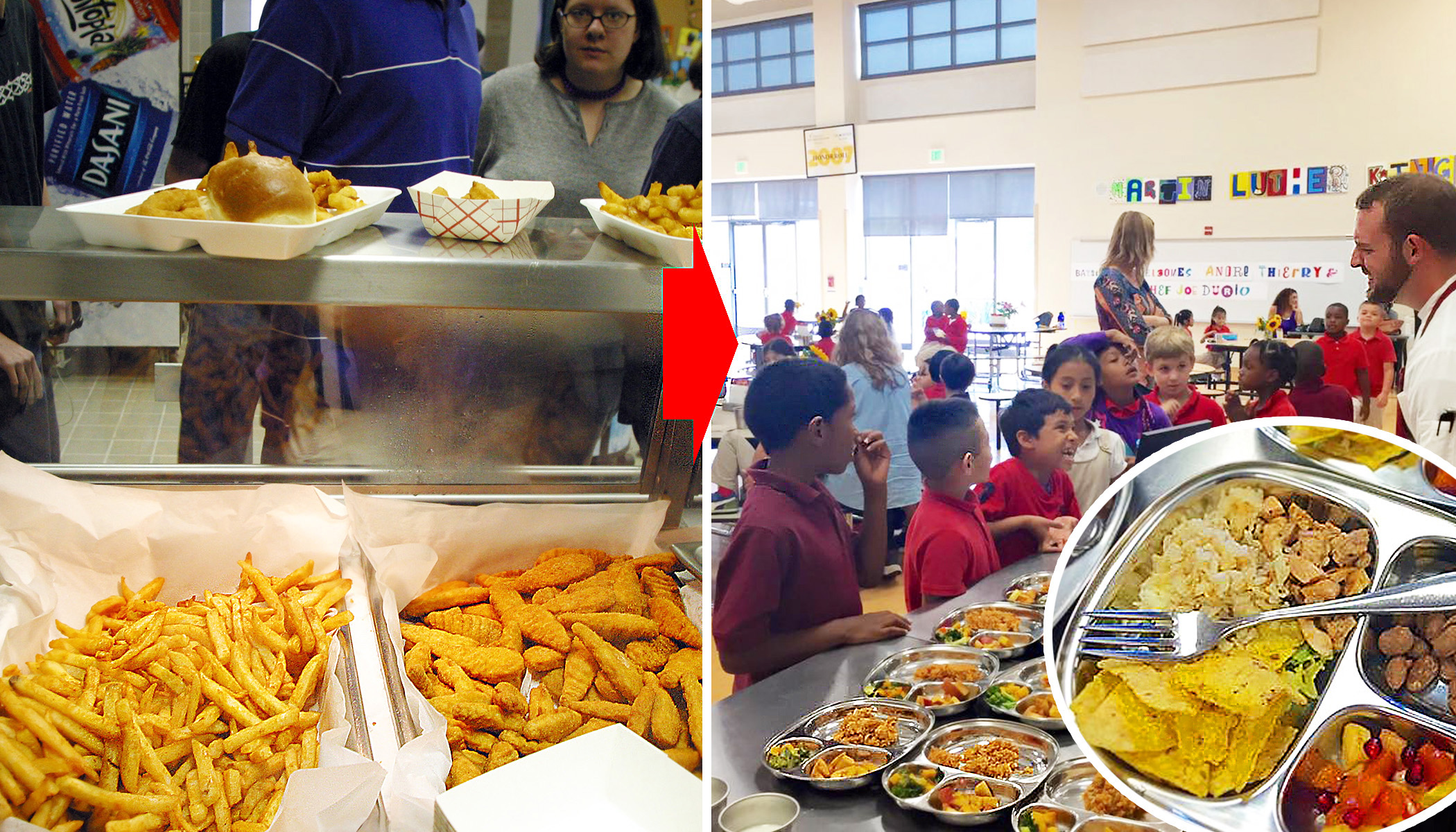 Cafeteria Food in Cali Schools Goes Non-GMO, Organic, Shifting School Service Paradigm