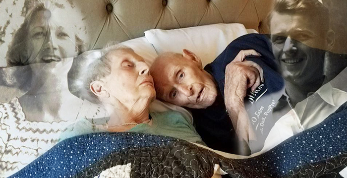WWII Couple Met on a Blind Date and Was Married for 70 Years Before Dying on Same Day