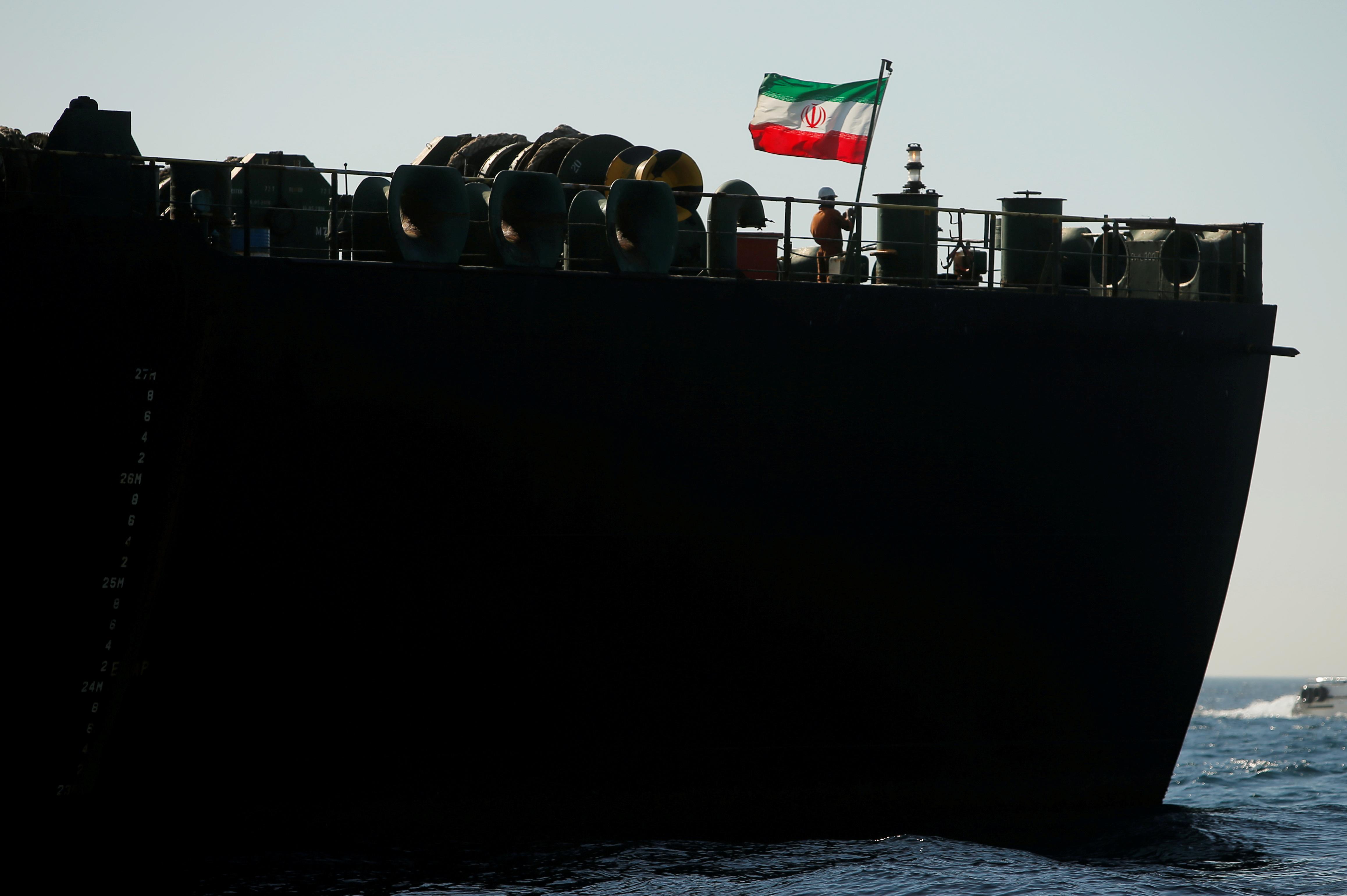 Iranian oil tanker Adrian Darya Grace 1