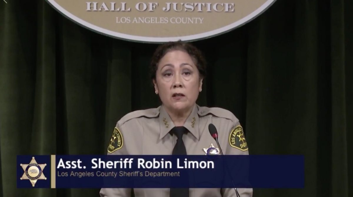 LA Sheriff's Deputy Lied About Being Shot by Sniper