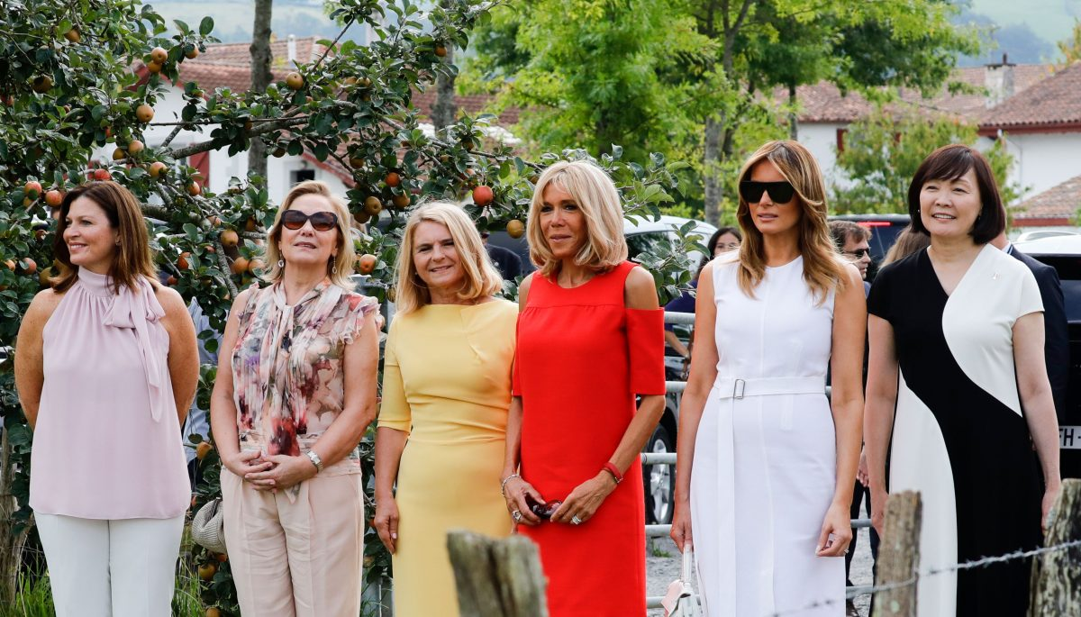 G7 leaders' spouses