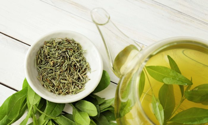 Green tea has a special property that supercharges antibiotics to take on superbugs. (KMNPhoto/Shutterstock)