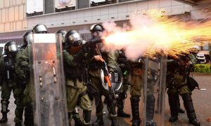 UK Halts Training for Hong Kong Police