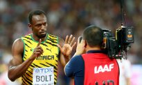 Usain Bolt Once Stopped Interview Midway to Honor the US National Anthem
