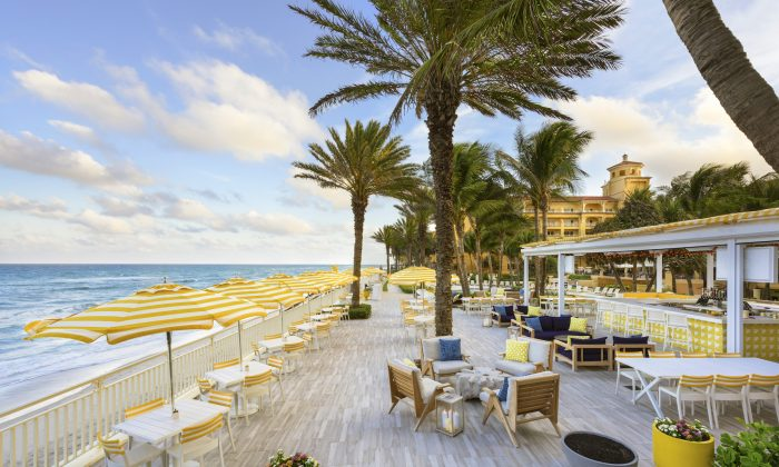 The AAA Five Diamond and Forbes Five-Star Eau Palm Beach Resort & Spa. (Eau Palm Beach Resort & Spa)